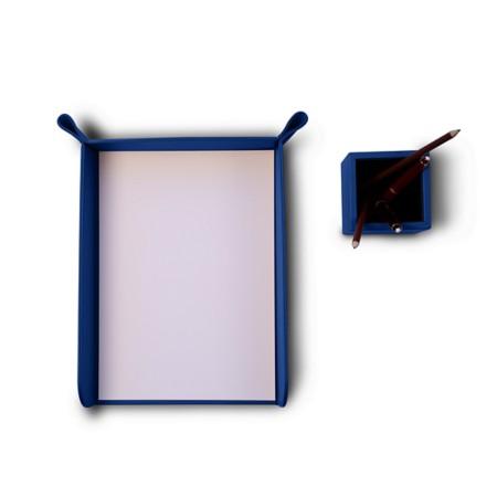 Paper holder and pen holder