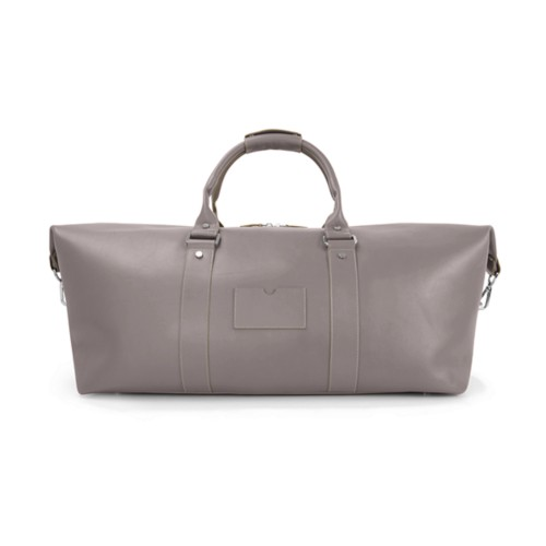 Duffel Bag - Light Taupe - Smooth Leather