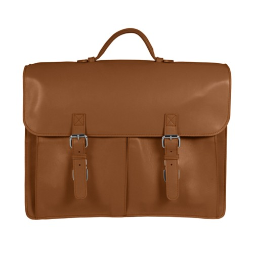 Soft briefcase 2 compartments