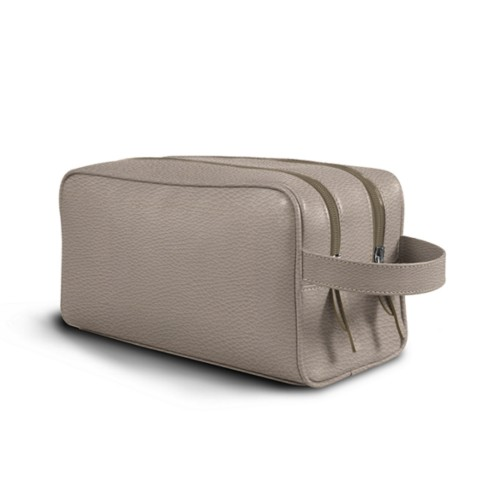 Toiletry Bag with Two Compartments (10.8 x 5.9 x 4.7 inches)