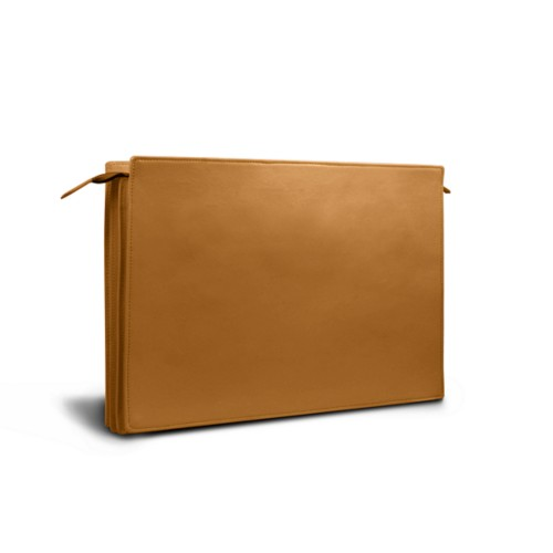 Document case - 3 compartments