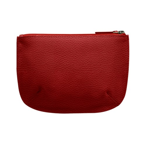 Rounded zippered flat case