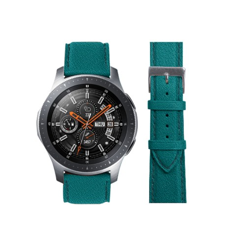 Samsung Galaxy Watch 46mm - 22mm - Sea Green - Goat Leather