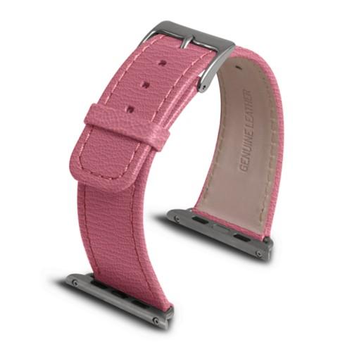 Apple Watch armband 42 mm - Rosa - Ziegenleder