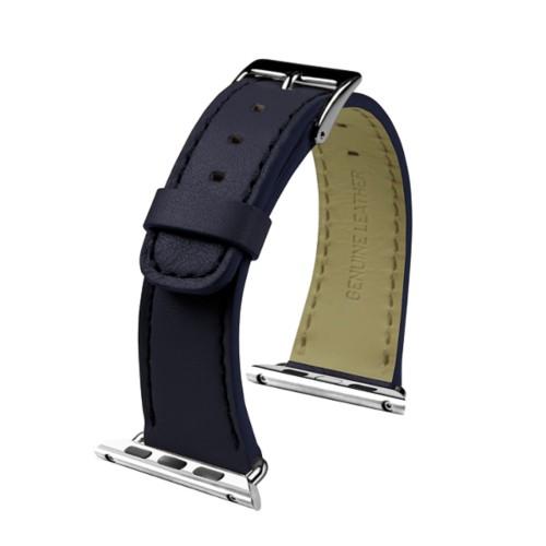 Apple Watch-Armband 38 mm - Klassisch - Königsblau  - Glattleder