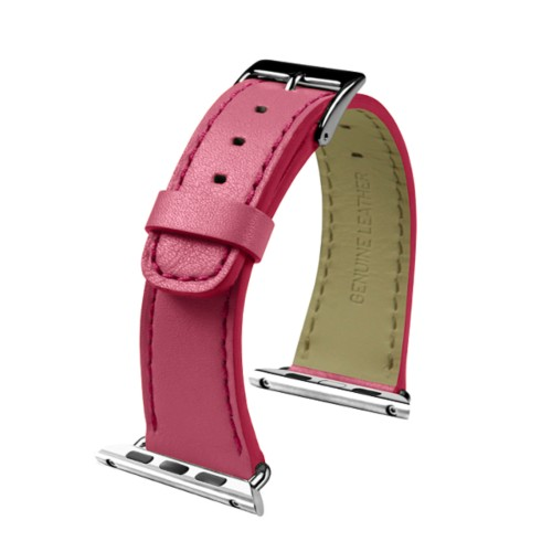 Apple Watch-Armband 38 mm - Klassisch - Fuchsia  - Glattleder