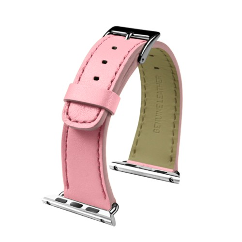Apple Watch-Armband 38 mm - Klassisch - Rosa - Glattleder