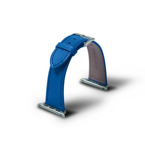Apple 38 mm Uhrarmband - 38mm - Azurblau  - Ziegenleder