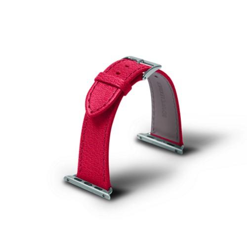 Apple 38 mm Uhrarmband - 38mm - Fuchsia  - Ziegenleder