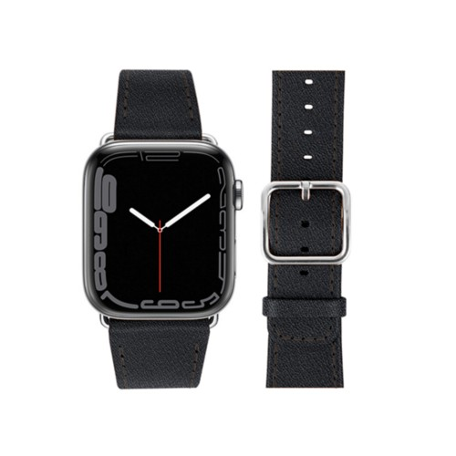 Apple Watch Series 4 Watch Band - (44 mm) - Black - Goat Leather