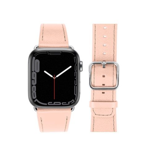 Apple Watch Series 4 Watch Band - (44 mm) - Nude - Smooth Leather