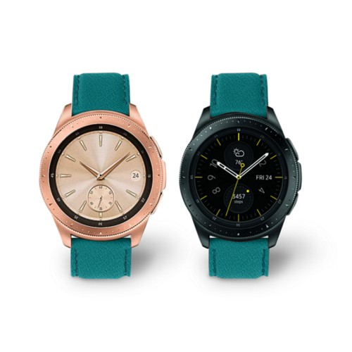 Samsung Galaxy Watch 42mm - 20mm - Sea Green - Goat Leather