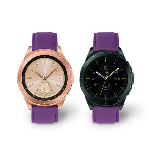 Samsung Galaxy Watch 42mm - 20mm - Lavender - Smooth Leather