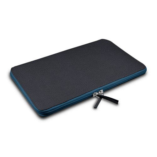 Calfskin zip-up laptop bag for MacBook Air 13""
