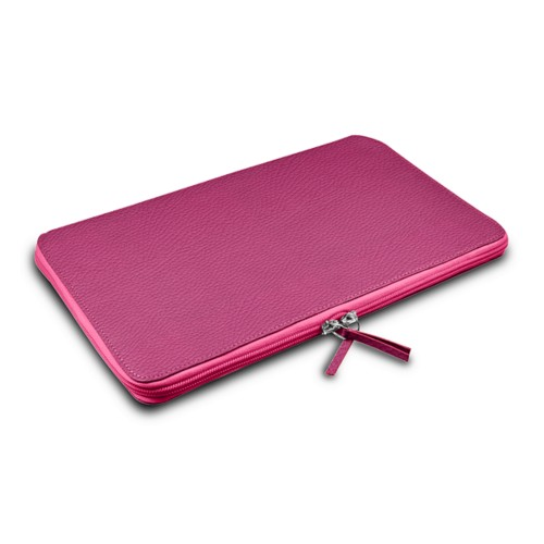 Grande Funda para MacBook Air 13 inch - Fuchsia  - Piel Grano