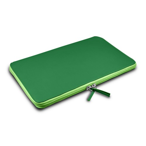Grande Funda para MacBook Air 13 inch - Verde claro - Piel Liso