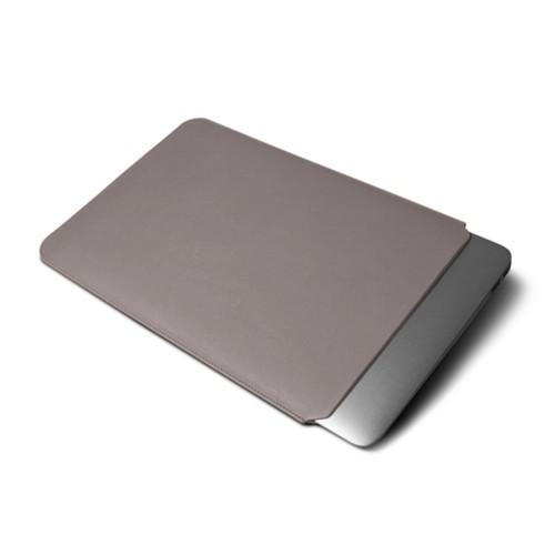Funda para MacBook Air 13 pulgadas - Taupe Luz - Piel Liso