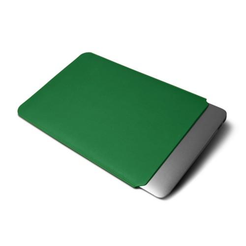 Funda para MacBook Air 13 pulgadas - Verde claro - Piel Liso
