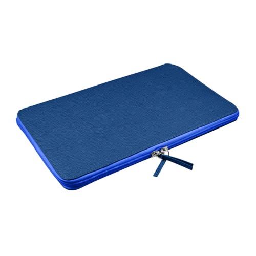 Rivestimento Computer Portatile per MacBook Air 11 pollici - Blu Azzuro - Pelle Ruvida