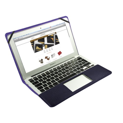 Scrigno semirigido in cuoio per MacBook Air 11 pollici