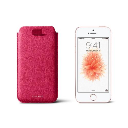 Custodia per iPhone 5/5s con linguetta