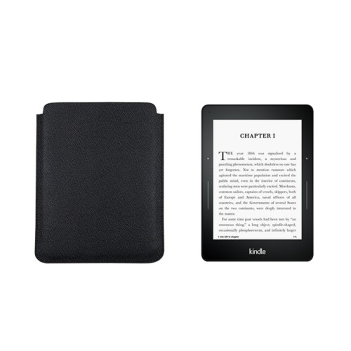 Kindle Paperwhite用ケース - Black - Goat Leather