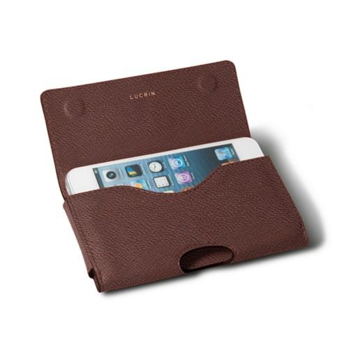 Custodia cintura in pelle per Apple iPhone 5/5s