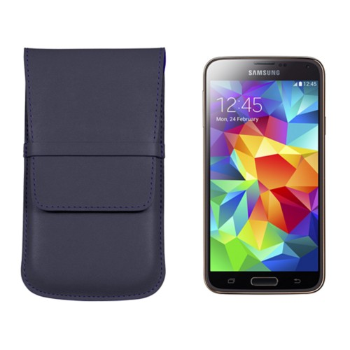 Custodia con patta per Samsung Galaxy S5