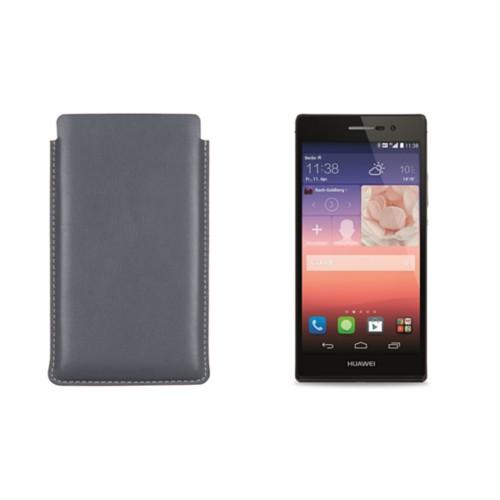 Housse avec tirette pour Huawei Ascend P7
