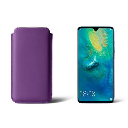 Beschermhoes Huawei Mate 20 - Lavendel - Soepel Leer