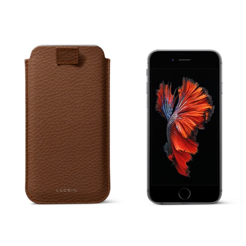 iPhone 6/6S case with pull-up strap