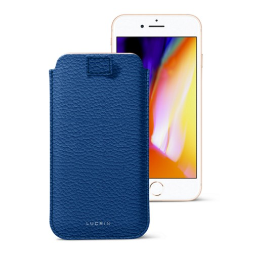 iPhone 8 Plus case with pull-up strap