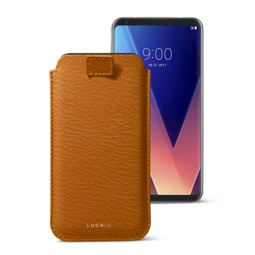 LG V30 case with pull-up tab