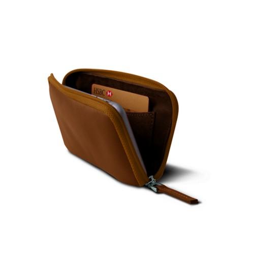 Weiche Reißverschlusstasche für das iPhone 7