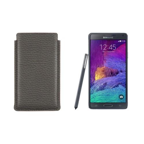 Housse pour Samsung Galaxy Note 4 avec tirette