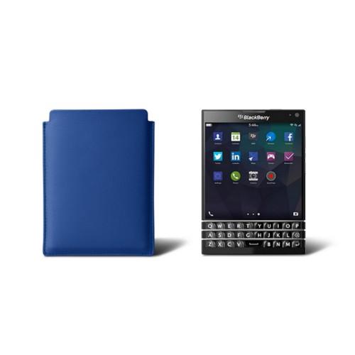 Ledertasche für Blackberry Passport