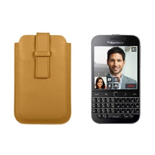 Hülle mit Lasche für das Blackberry Classic