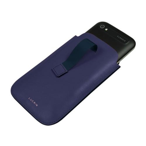 Custodia con cinturino estraibile per Blackberry Classic