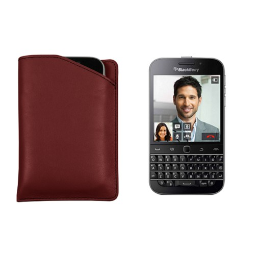 Custodia con incavo per Blackberry Classic