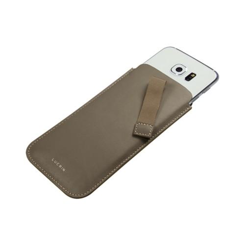 Tasche mit Zunge für das Samsung Galaxy S6