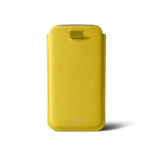 Tasche mit Rückzugfunktion für das Samsung Galaxy S6 Edge