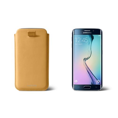 Etui Samsung Galaxy S6 Edge avec Tirette