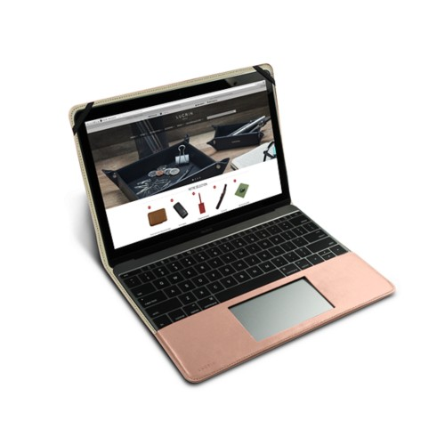 Case for MacBook - Nude - Smooth Leather