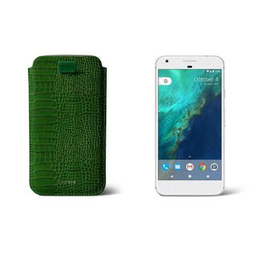Samsung Galaxy S6 Edge Plus Hülle mit Riemen zum Herausziehen
