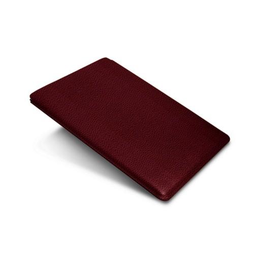 """iPad Pro 12,9"""" Schutzhülle - Weinrot - Genarbtes Leder"""