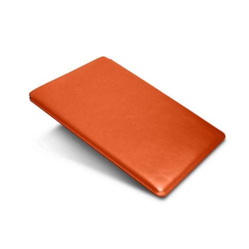 """iPad Pro 12,9"""" Schutzhülle - Orange - Glattleder"""