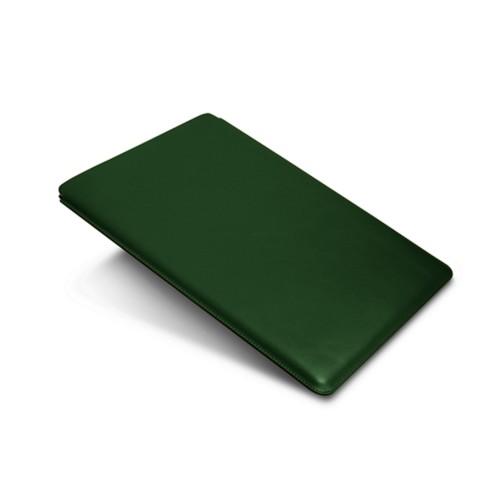 """iPad Pro 12,9"""" Schutzhülle - Dunkelgrün - Glattleder"""