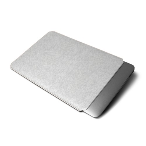 プロティティブカバー MacBook Air 2018 - White - Granulated Leather