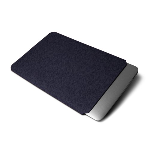 Funda protectora para MacBook Air 2018 - Violeta - Piel Grano