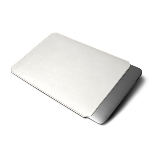 プロティティブカバー MacBook Air 2018 - White - Smooth Leather